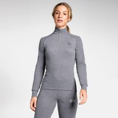 Women's Active Warm 1/2 Zip Turtle-neck Long-sleeve Base Layer Top